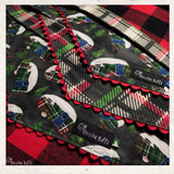 Holiday Christmas Camper Dog Bandana