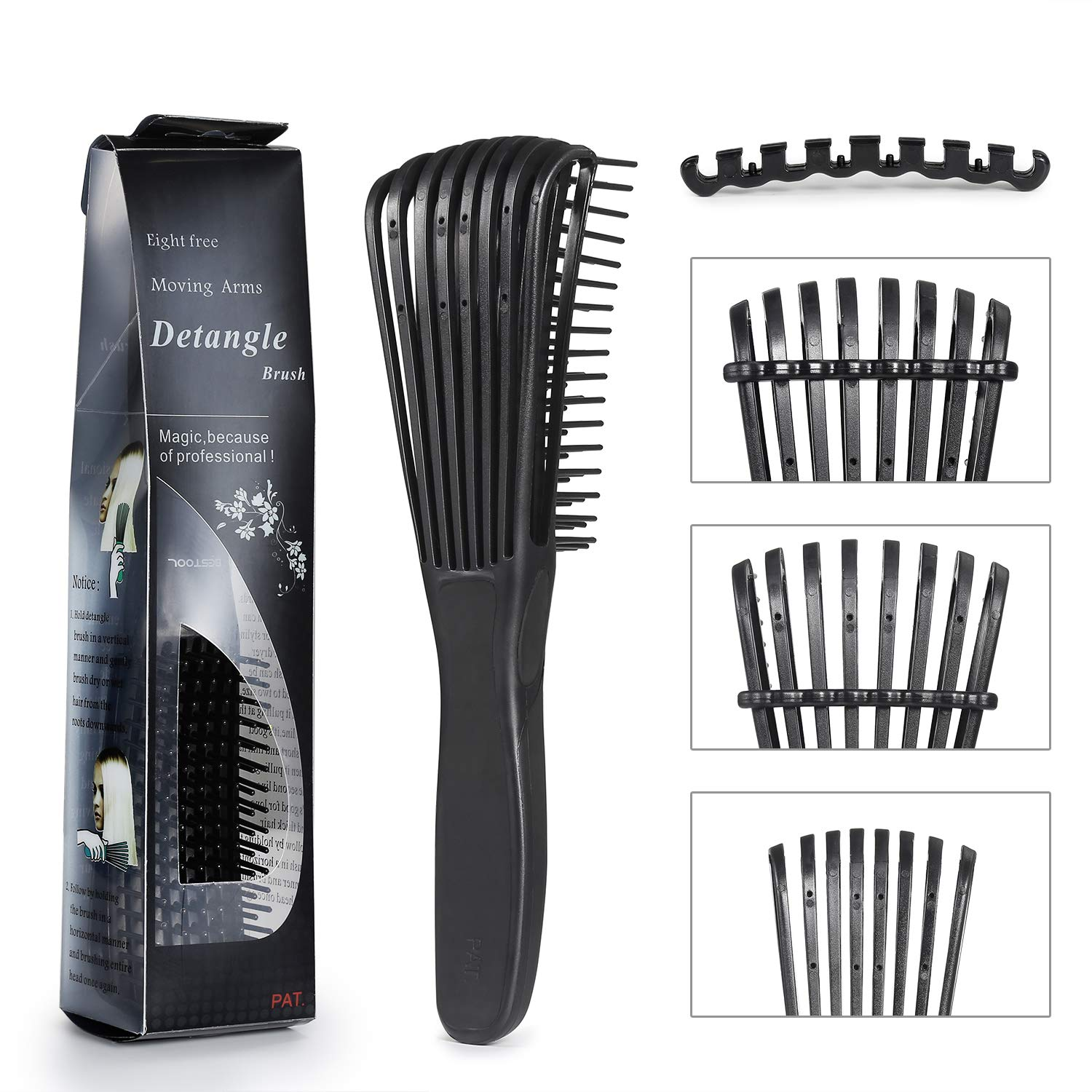 Easy DETANGLING BRUSH FOR KINKY, COILY AND CURLY HAIR
