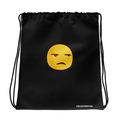 The Original Surly Emoji Unisex Drawstring Bag - chilloutshop.com