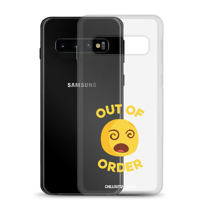 The Original Out of Order Emoji Samsung Case - chilloutshop.com