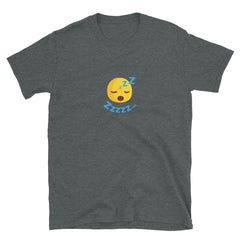 The Original Zzzzz Emoji Unisex Short-Sleeve T-Shirt - chilloutshop.com