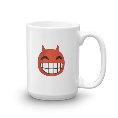 The Original Devil Smile Emoji Mug - chilloutshop.com