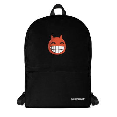 The Original Devil Smile Emoji Unisex Backpack - chilloutshop.com