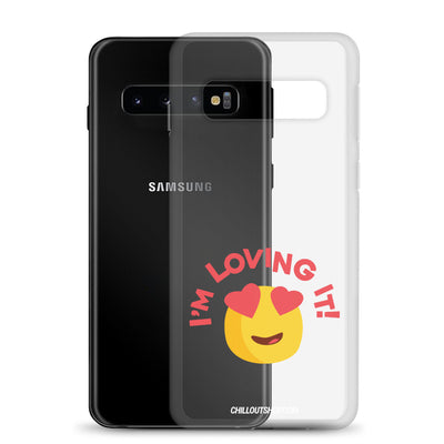 The Original I'm Loving It Emoji Samsung Case, Samsung Cases, chilloutshop.com