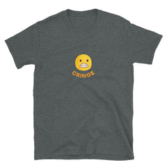 The Original Cringe Emoji Unisex Short-Sleeve T-Shirt - chilloutshop.com