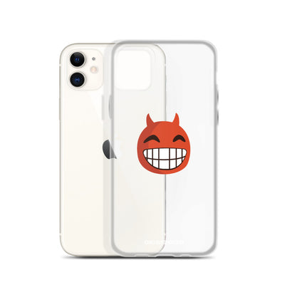 The Original Devil Smile Emoji iPhone Case - chilloutshop.com