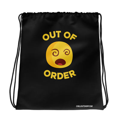The Original Out of Order Emoji Unisex Drawstring Bag - chilloutshop.com