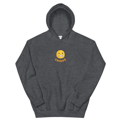 The Original Cringe Emoji Unisex Hoodie - chilloutshop.com
