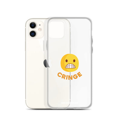 The Original Cringe Emoji iPhone Case - chilloutshop.com