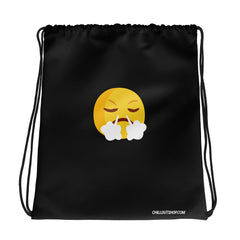 The Original Pissed Off Emoji Unisex Drawstring Bag - chilloutshop.com