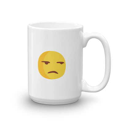 The Original Surly Emoji Mug, Mugs, chilloutshop.com