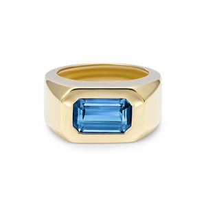 Berlin: Blue Tourmaline Ring