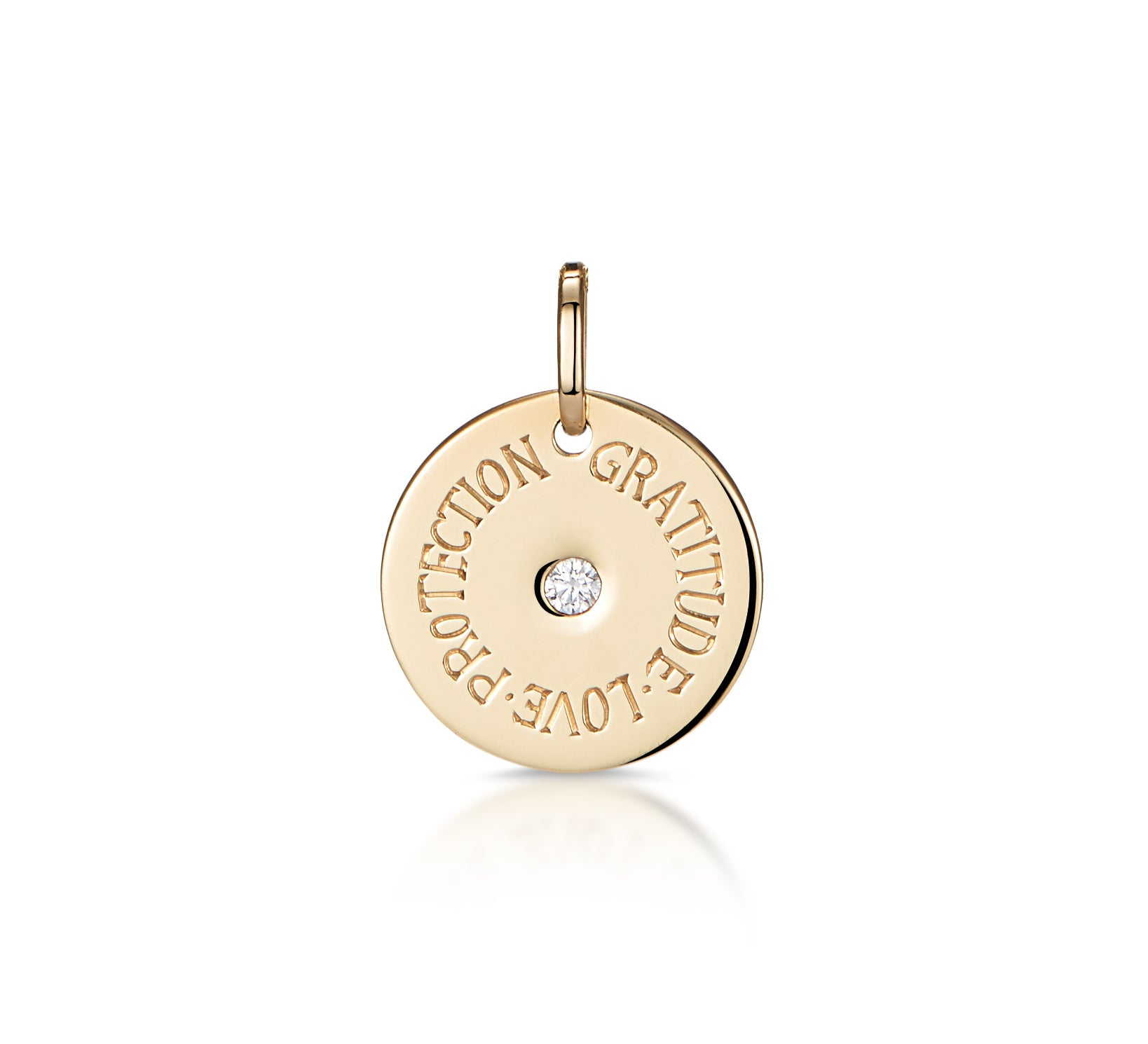 Mantra: Customisable - Gold & Diamond Disc