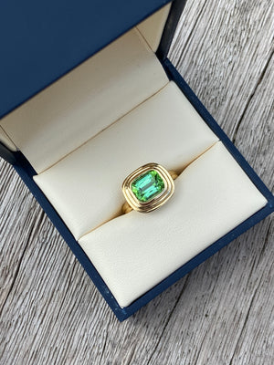 Athena: Medium Tourmaline Ring
