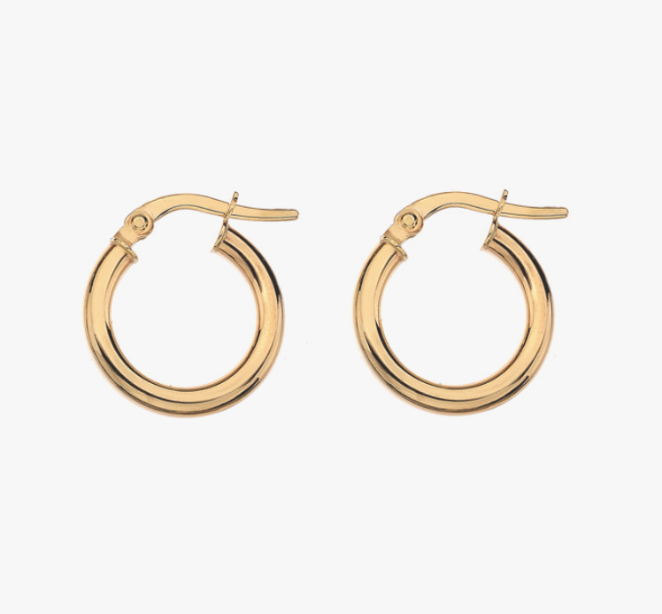 Mermaid: Gold Hoops