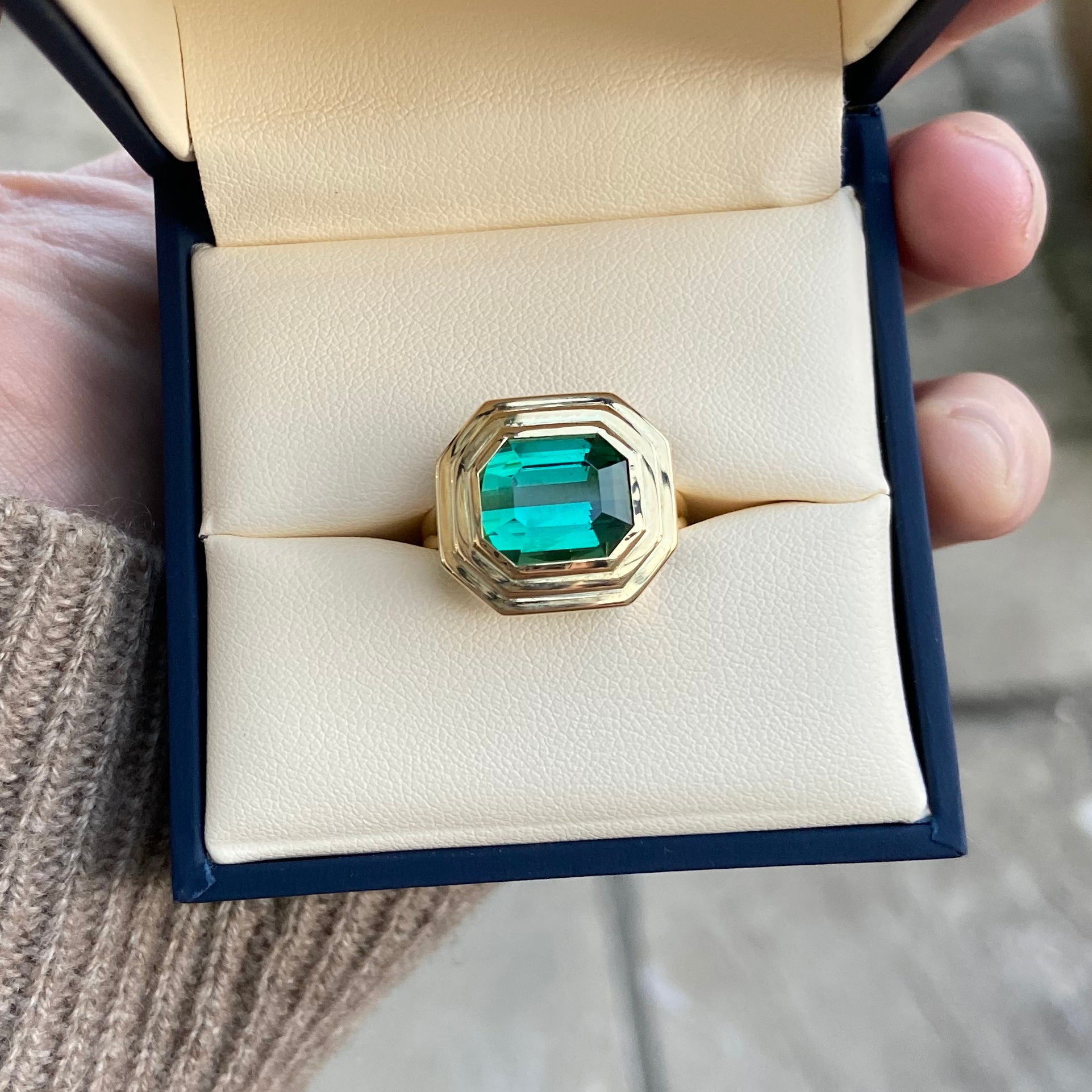 Bespoke: Tourmaline Ring