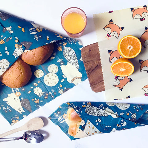 Swoofe Reusable Beeswax Food Wraps