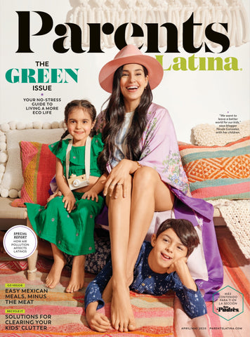 Parents Magazine - Parents Latina - April May 2020 - The Green Issue - Swoofe Beeswax Food Wrap