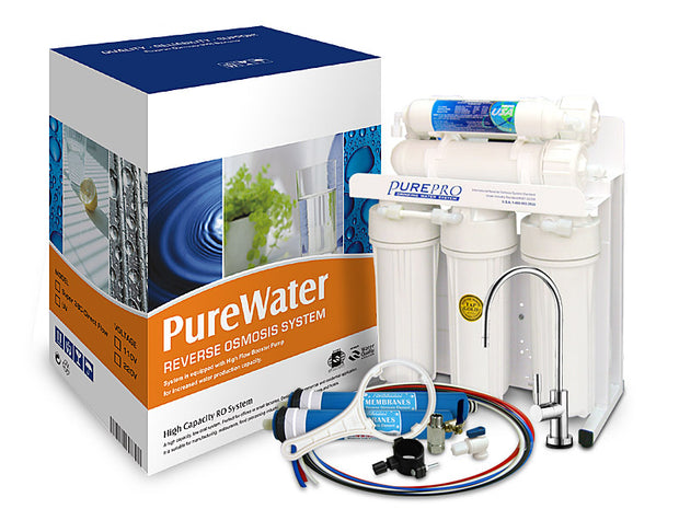 PurePro® USA Direct Flow RO Water Filter System Super380-Direct Flow