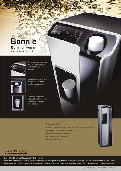 PurePro® USA Office RO Water Heater / Water Cooler   Bonnie