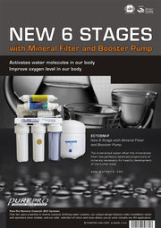 PurePro® USA 6 Stage Mineral RO System EC106MP
