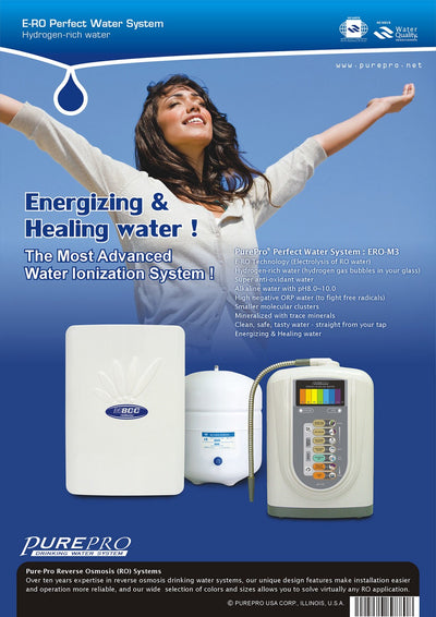PurePro® USA Perfect Water System ( RO+ Ionizer) M3