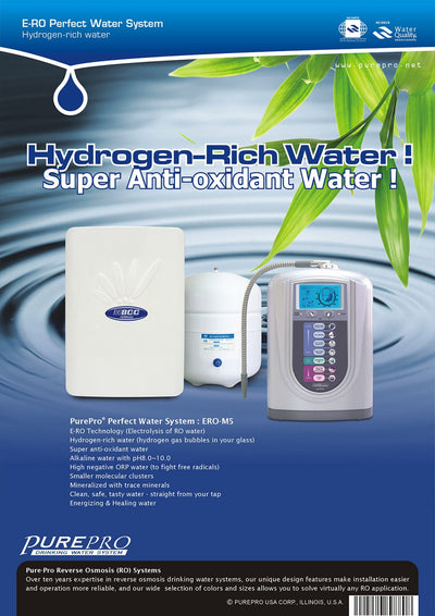 PurePro® USA Perfect Water System ( RO+ Ionizer) M5