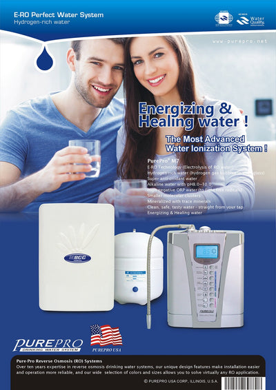 PurePro® USA Perfect Water System ( RO+ Ionizer) M7