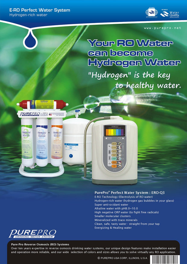 PurePro® USA Perfect Water System ( RO+ Ionizer) Q3