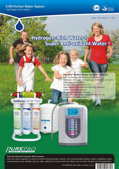 PurePro® USA Perfect Water System ( RO+ Ionizer) Q5