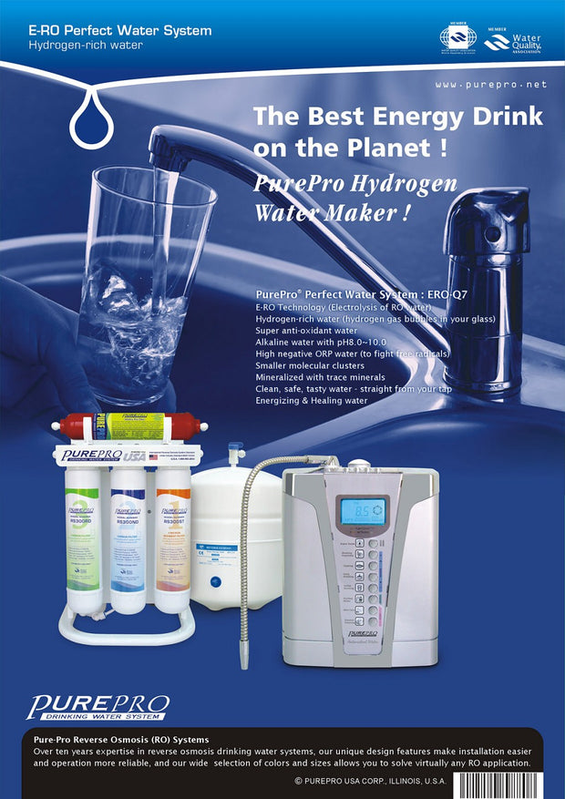 PurePro® USA Perfect Water System ( RO+ Ionizer) Q7