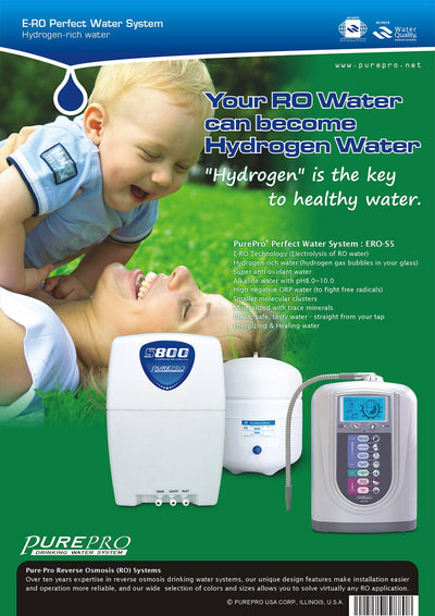 PurePro® USA Perfect Water System ( RO+ Ionizer) S5