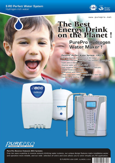 PurePro® USA Perfect Water System ( RO+ Ionizer) S7