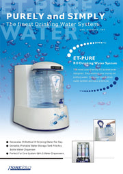 PurePro® USA Countertop RO Water Purification System ET-PURE
