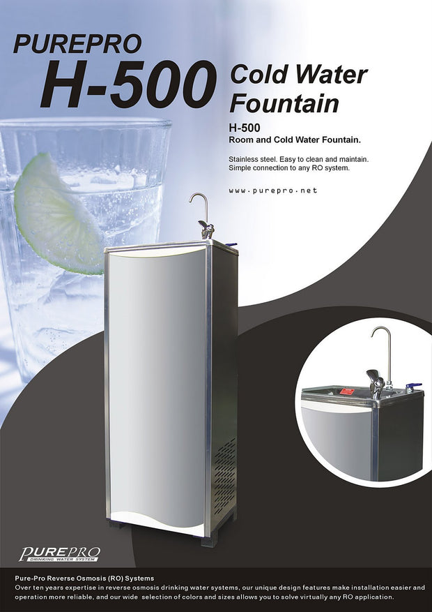 PurePro® USA Cold Water Fountain / Water Cooler H-500