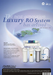 PurePro® USA Reverse Osmosis Water Filter System LUX-105