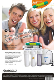PurePro® USA Alkaline RO Water Filter System LUX-106A-P