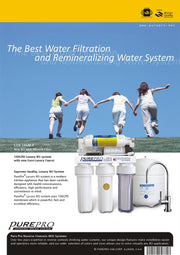 PurePro® USA Reverse Osmosis Water Filter System LUX-106M-P