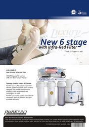 PurePro® USA Reverse Osmosis Water Filter System LUX-106R-P