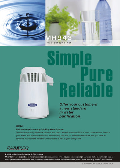 PurePro® USA  Water Distiller MH-943