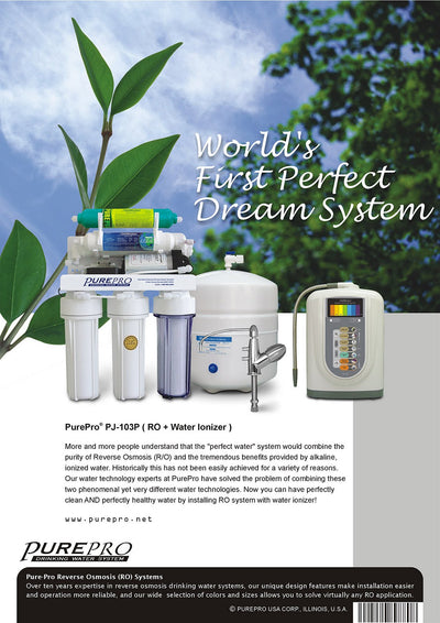 PurePro® USA Perfect Water System ( RO+ Ionizer) PJ-103P