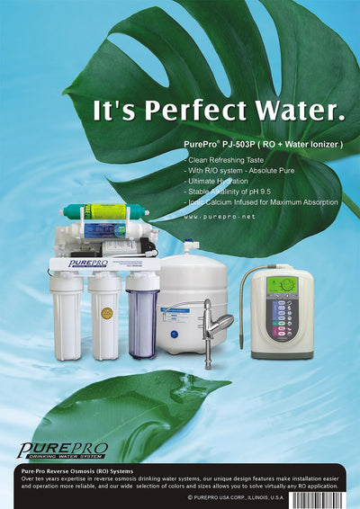 PurePro® USA Perfect Water System ( RO+ Ionizer) PJ-503P
