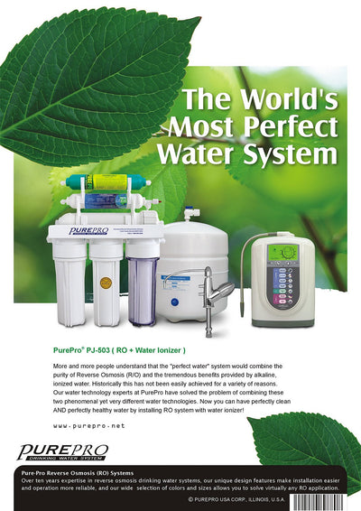 PurePro® USA Perfect Water System ( RO+ Ionizer) PJ-503