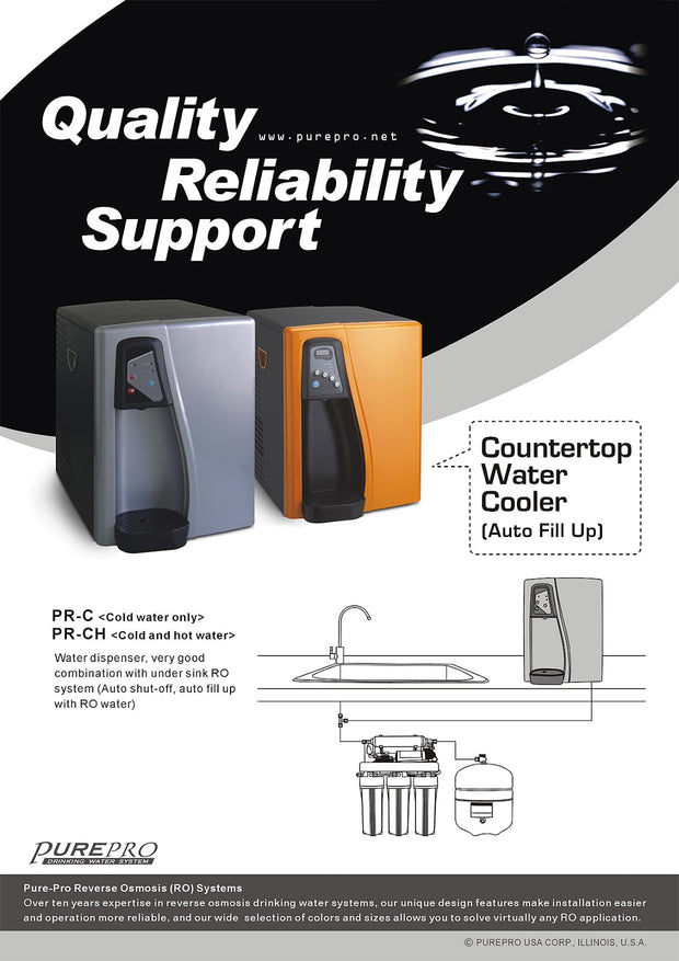 PurePro® USA Countertop Water Cooler PR-C