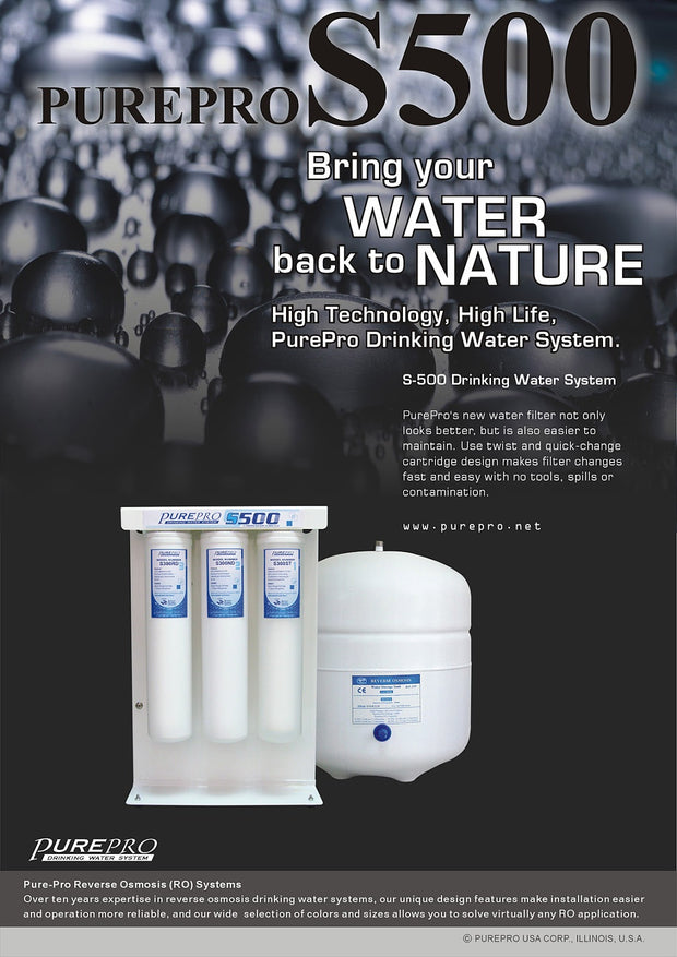 PurePro® USA Reverse Osmosis Water Filtration System S500