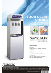 PurePro® USA Office RO Water Heater / Water Cooler ST-BD