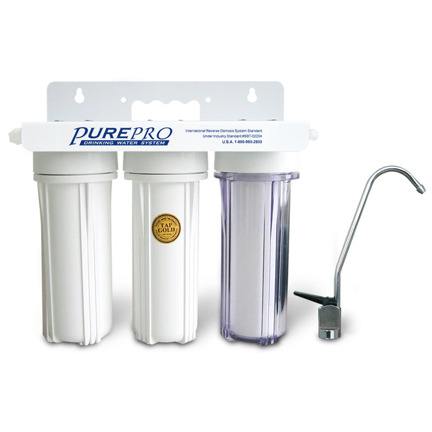 PurePro® USA  Under Sink Home Water Filtration System UN-WF30