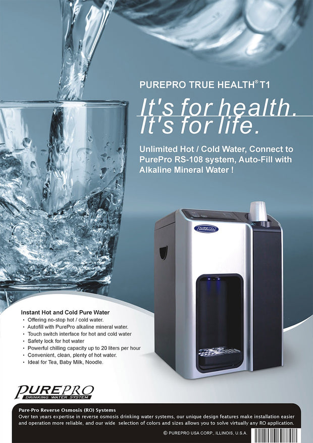 PurePro® USA Countertop Water Cooler / Heater  T1