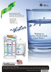 PurePro® USA 8 Stage Alkaline RO Water Filtration System RS108