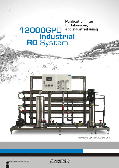 PurePro® USA Industrial Reverse Osmosis System, Commercial RO System RO12000
